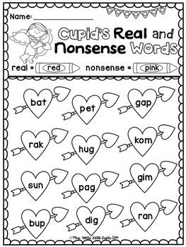 Valentine's Day Literacy and Math