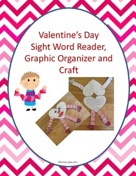 Preschool Valentine's Day Literacy and Math Centers