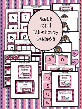 Valentine's Day  Literacy and Math Mega Bundle