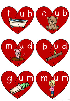 Valentines Day Literacy and Math Pack Free Sample