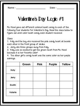 Valentine's Day Logic
