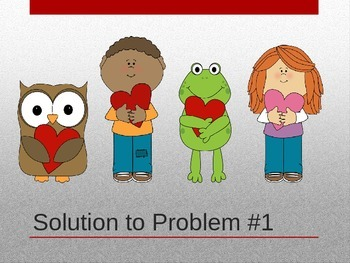 Valentine's Day Logic Line-up PowerPoint:  Love is in the Air!