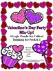 Valentine's Day Logic Puzzles for Lower and Upper Elementary!