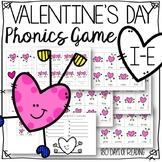 Valentine's Day Long Vowel Silent e i-e Game For Reading Fluency