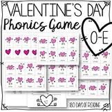 Valentine's Day Long Vowel Silent e o-e Game for Reading Fluency
