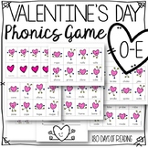 Valentine's Day Long Vowel Silent e o-e game