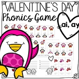 Valentine Day Long Vowel ai, ay game for fluency