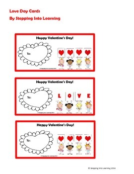 Valentines Day Love Cards and Crafts