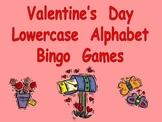 Valentine's Day Lowercase Alphabet Bingo- Preschool or Kindergarten