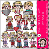 Valentine's Day clip art - Lucy Doris - by Melonheadz