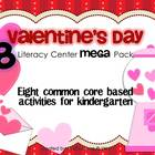 {Valentine's Day} MEGA Pack of 8 Literacy Centers for Kind