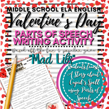 "Valentine's Day Activity: ""Mad Libs"""