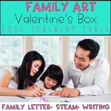 Valentine's Day Mailbox Art Activity