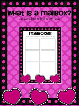 Valentine's Day Activity: Making Mailboxes Design Challenge