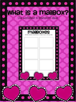 Valentine's Day Activity: Making Mailboxes Design Challenge