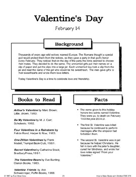 Valentines Day: Making Books