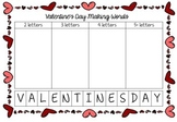 Valentine's Day Word Work - Making Words