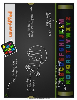Valentine's Day Making Words iPad Activity for Wordstudy