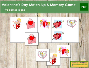 Valentine's Day Match-Up and Memory