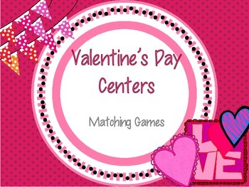 Valentine's Day Matching Games