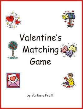 Valentine's Day Matching Games eBook
