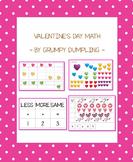 Valentine's Day Math (1-10)