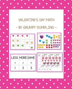 Valentine's Day Math (1-10)