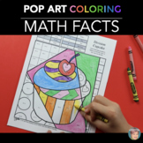 Fun Valentine's Day Activity: Valentine's Day Math Colorin