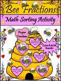 Valentine's Day Activities: Bee Fractions Valentine's Day