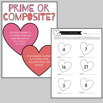 Valentine's Day Math Activites