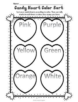 valentine 39 s day math activities grades k 2 by happyedugator tpt. Black Bedroom Furniture Sets. Home Design Ideas