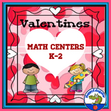 Valentine's Day Math Activities Grades K - 2