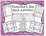 Valentines Day Math Activities - Conversation Heart Graphing