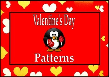 Valentines Day Math Activities Patterns