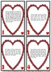 Valentine's Day Math Activities Word Problems and Tests 4th