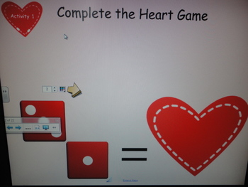 Valentine's Day Math Activities for the SMART Board