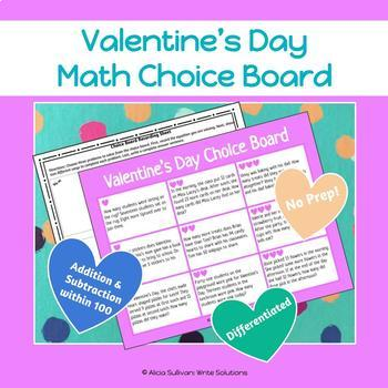 Valentines Day Math Activity