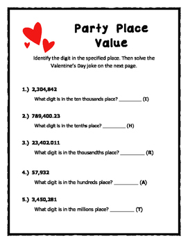 Valentine's Day Math (Common Core Aligned)