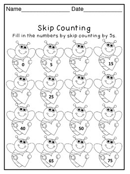 Valentine's Day Math Activity Worksheets (13 pages)