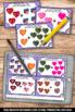 Valentine's Day Math Activities, Kindergarten Addition Facts to 10 Task Cards