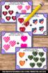 Valentines Day Kindergarten Math Center Addition Task Card