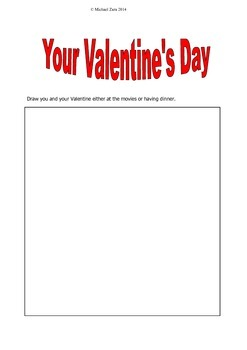 Valentine's Day Math Budget Activity 5th 6th 7th
