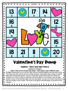 Valentineu0027s Day Free: Valentineu0027s Day Math ...