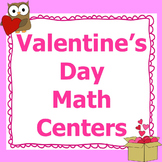 Valentines Day Math Centers 3rd Grade *Common Core*