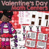 Valentine's Day Math Centers & Work Stations
