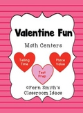 St Valentine's Day Math Center Games