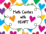 Valentine's Day Math Centers with HEART