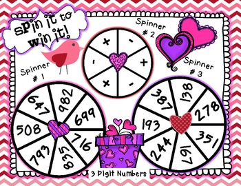 Valentine's Day Math Extravaganza-Free Game