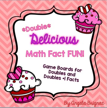 *Valentine's Day* Math Fact Game for Doubles and Doubles +1 Facts
