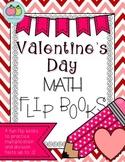 Valentine's Day Math Flip Books